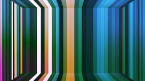 Αστράφτοντας κάθετο δωμάτιο φραγμών υψηλής τεχνολογίας ραδιοφωνικής μετάδοσης, πολυ χρώμα, περίληψη, Loopable, 4K διανυσματική απεικόνιση