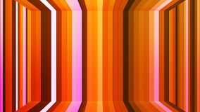 Αστράφτοντας κάθετο δωμάτιο φραγμών υψηλής τεχνολογίας ραδιοφωνικής μετάδοσης, πορτοκάλι, περίληψη, Loopable, 4K απεικόνιση αποθεμάτων