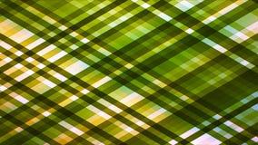 Αστράφτοντας λουρίδες υψηλής τεχνολογίας διαμαντιών ραδιοφωνικής μετάδοσης, πράσινος, αφηρημένες, Loopable, 4K απεικόνιση αποθεμάτων