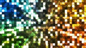 Αστράφτοντας τετράγωνα 11 υψηλής τεχνολογίας ραδιοφωνικής μετάδοσης απόθεμα βίντεο