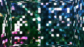 Αστράφτοντας δωμάτιο 06 τετραγώνων υψηλής τεχνολογίας ραδιοφωνικής μετάδοσης απόθεμα βίντεο