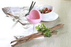 Αστράψτε φράουλα Στοκ Εικόνες