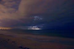 αστραπή απόστασης Στοκ εικόνα με δικαίωμα ελεύθερης χρήσης