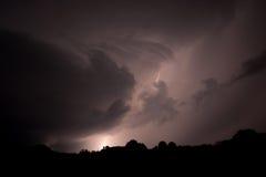 Αστραπή στον ουρανό Στοκ φωτογραφίες με δικαίωμα ελεύθερης χρήσης