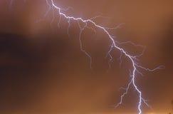 αστραπή Στοκ φωτογραφία με δικαίωμα ελεύθερης χρήσης