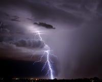 αστραπή Tucson Στοκ φωτογραφία με δικαίωμα ελεύθερης χρήσης