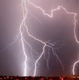 αστραπή Tucson AZ Στοκ Φωτογραφίες