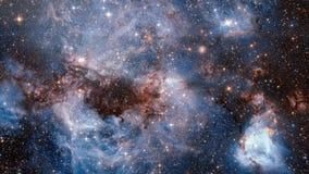 Αστρικό νεφέλωμα Γαλαξίας στο βαθύ διάστημα Βαθιά εξερεύνηση του διαστήματος τομείς και nebulas αστεριών στο διάστημα απόθεμα βίντεο