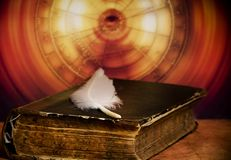 αστρολογία παλαιά στοκ εικόνα με δικαίωμα ελεύθερης χρήσης