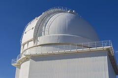 Αστρολογικός μπροστινός θόλος παρατηρητήριων, calar alto, Ισπανία στοκ εικόνα