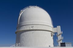 Αστρολογικό παρατηρητήριο, αστρολογικός μπροστινός θόλος παρατηρητήριων στοκ εικόνα με δικαίωμα ελεύθερης χρήσης