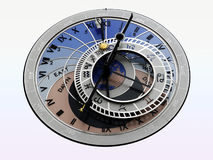 αστρολογικό ρολόι Στοκ φωτογραφία με δικαίωμα ελεύθερης χρήσης