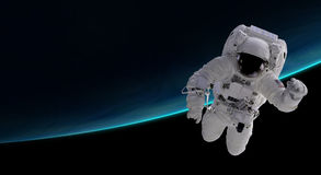 Αστροναύτης στη γήινη τροχιά απεικόνιση αποθεμάτων