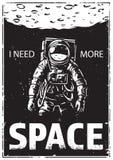 Αστροναύτης στο spacewalk Στοκ Εικόνες