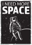 Αστροναύτης στο spacewalk Στοκ φωτογραφίες με δικαίωμα ελεύθερης χρήσης