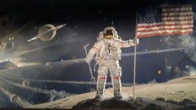 Αστροναύτης ελεύθερη απεικόνιση δικαιώματος