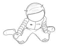 αστροναύτης 23 Στοκ Φωτογραφία