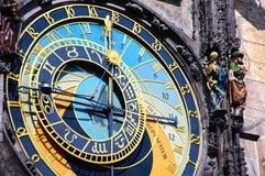 Αστρονομική 'Ένδειξη ώρασ' της Πράγας Στοκ Φωτογραφίες