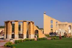 Αστρονομικό παρατηρητήριο Jantar Mantar στο Jaipur, Rajasthan στοκ φωτογραφία με δικαίωμα ελεύθερης χρήσης
