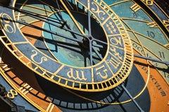 αστρονομικό ρολόι Πράγα Στοκ Φωτογραφία