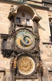 Αστρονομικό ρολόι στην Πράγα Στοκ φωτογραφία με δικαίωμα ελεύθερης χρήσης