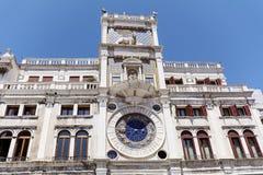 αστρονομικό ρολόι Βενετί& Στοκ Φωτογραφίες