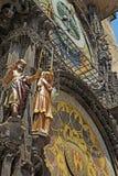 Αστρονομικό ρολόι (Πράγα, Δημοκρατία της Τσεχίας) Στοκ Εικόνες