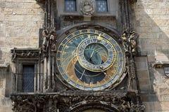 αστρονομικό ρολόι Πράγα Στοκ εικόνες με δικαίωμα ελεύθερης χρήσης