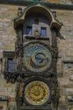 αστρονομικό ρολόι Πράγα Στοκ φωτογραφία με δικαίωμα ελεύθερης χρήσης