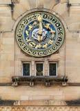 Αστρονομικό ρολόι σε Schramberg Στοκ Φωτογραφίες