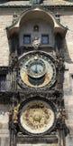 Αστρονομικό ρολόι στην Πράγα Στοκ Φωτογραφίες