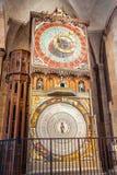 Αστρονομικό ρολόι στον καθεδρικό ναό του Lund Στοκ Εικόνες