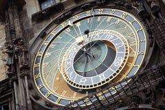 Αστρονομικό ρολόι της Πράγας Στοκ φωτογραφίες με δικαίωμα ελεύθερης χρήσης