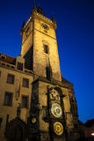 Αστρονομικό ρολόι 01 της Πράγας Στοκ Φωτογραφίες