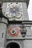 Αστρονομικό ρολόι Zytglogge στη Βέρνη Στοκ Εικόνες