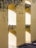 Αστρονομικό όργανο σε Jantar Mantar στο Jaipur Στοκ φωτογραφίες με δικαίωμα ελεύθερης χρήσης