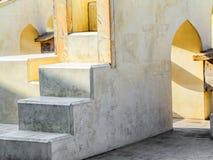 Αστρονομικό όργανο σε Jantar Mantar στο Jaipur Στοκ εικόνες με δικαίωμα ελεύθερης χρήσης