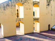 Αστρονομικό όργανο σε Jantar Mantar στο Jaipur Στοκ εικόνα με δικαίωμα ελεύθερης χρήσης