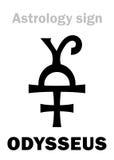 Αστρολογία: αστεροειδές ODYSSEUS Ulysses Στοκ φωτογραφία με δικαίωμα ελεύθερης χρήσης