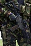 αστυνομία αγώνα στρατού autorifle στοκ εικόνες με δικαίωμα ελεύθερης χρήσης