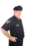αστυνομία ανώτερων υπαλλήλων αρχής Στοκ εικόνα με δικαίωμα ελεύθερης χρήσης