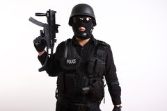 αστυνομία ανώτερων υπαλ&lamb Στοκ Φωτογραφία