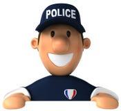 αστυνομία ανώτερων υπαλ&lamb διανυσματική απεικόνιση
