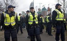 αστυνομία επίδειξης Στοκ εικόνες με δικαίωμα ελεύθερης χρήσης