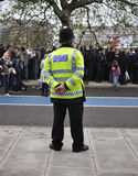 αστυνομία ιωβηλαίου διαμαντιών Στοκ Φωτογραφίες