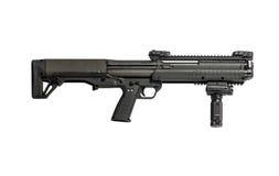 Αστυνομία κυνηγετικών όπλων τακτική που απομονώνει στο άσπρο δικαίωμα υποβάθρου στοκ εικόνες με δικαίωμα ελεύθερης χρήσης