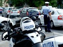 αστυνομία ρουμάνικα Στοκ φωτογραφία με δικαίωμα ελεύθερης χρήσης