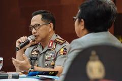 Αστυνομία στρατηγός Tito Karnavian Στοκ εικόνες με δικαίωμα ελεύθερης χρήσης