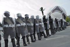 Αστυνομία ταραχής Στοκ εικόνα με δικαίωμα ελεύθερης χρήσης