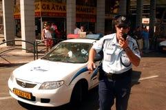 Αστυνομία του Ισραήλ Στοκ εικόνα με δικαίωμα ελεύθερης χρήσης